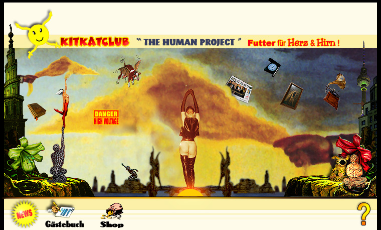 KitKatClub The Human Project - Futter fr Herz und Hirn-